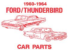 1960-1964 Ford Thunderbird